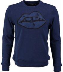 antony morato blauwe sweater