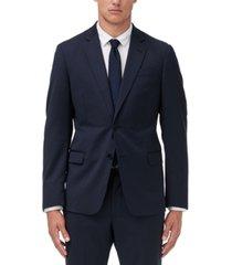 armani exchange men's modern-fit solid suit jacket separate