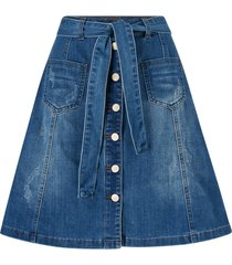 jeanskjol almacr denim skirt