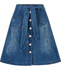 jeanskjol almacr denim skirt