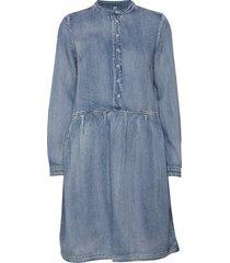 cupaola dress jurk knielengte blauw culture