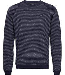baxter light sweatshirt sweat-shirt tröja blå makia