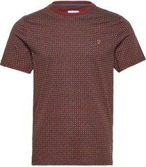 holbrooks t-shirt t-shirts short-sleeved röd farah