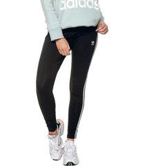leggings negro-blanco adidas originals 3 str tight