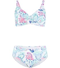 bikini minimizer con ferretto (set 2 pezzi) (bianco) - bpc bonprix collection