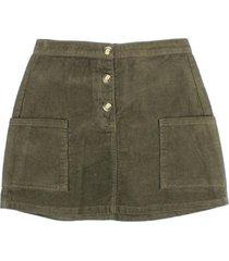 falda origen verde ficcus