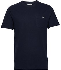 didelot l t-shirts short-sleeved blå tiger of sweden