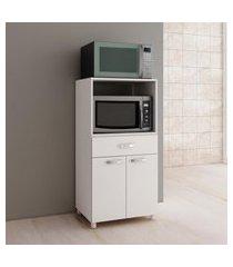 balcão para forno 2 portas 1 gaveta branco bf15 fellicci móveis