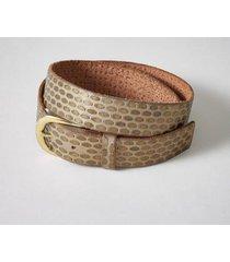 sundance catalog women's shimmering paths belt in taupe large