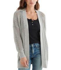 lucky brand open boyfriend cardigan sweater