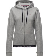 hoody hwk night & loungewear hoodies grijs tommy hilfiger