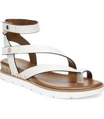 women's franco sarto daven sandal, size 8.5 m - white