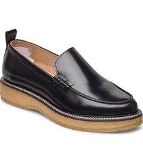 border crepe loafer loafers låga skor svart royal republiq