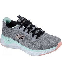 lage sneakers skechers solar fuse-brisk escape 13328 gymt