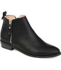 journee collection women's ellis bootie women's shoes