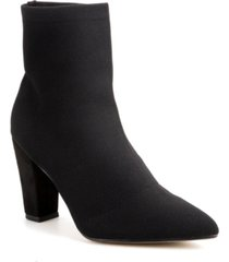 catherine malandrino eileen knit bootie women's shoes