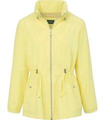 jas met staande kraag van basler geel