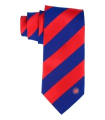 eagles wings chicago cubs regiment woven silk tie