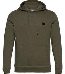 piece hoodie hoodie trui groen les deux