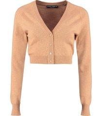 dolce & gabbana cropped cashmere cardigan