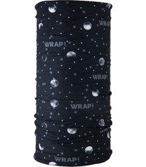 bandana multifuncional universo negro wild wrap