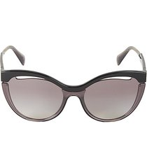 60mm browline sunglasses
