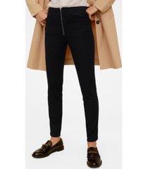 mango zip pocket slim fit pants