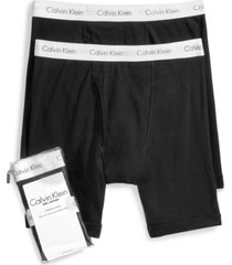 calvin klein men's big & tall classic 2-pack boxer briefs
