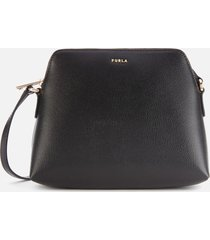 furla women's boheme xl cross body bag pouch - black/pink/white