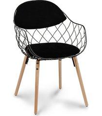 stylowe krzesło scandi