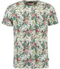 t-shirt jprlee bla. tee wit