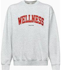 sporty & rich sporty and rich wellness sweatshirt