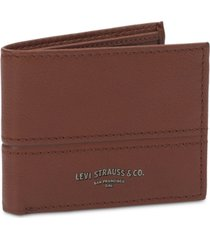 levi's men's traveler wallet