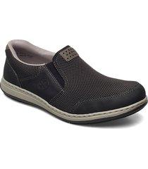 17363-00 loafers låga skor svart rieker