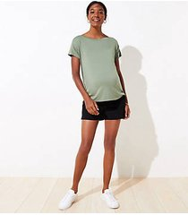 loft maternity riviera shorts with 4 inch inseam