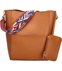 borsa casuale della borsa di cuoio dell'unità di elaborazione di modo delle donne