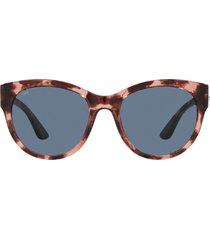costa del mar coasta del mar maya 55mm polarized cat eye sunglasses in pink multi at nordstrom