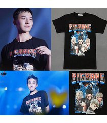 kpop bigbang t-shirt made full anniversary tee gd tshirt g-dragon christmas gift