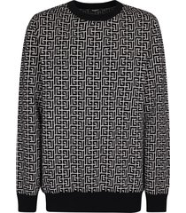balmain branded sweater