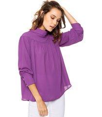 blusa violeta ted bodin lakota