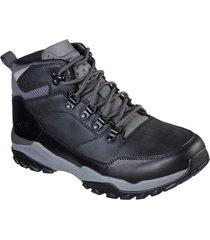 zapatos casuales henrick- marcon negro skechers