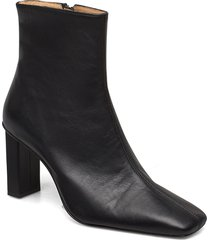 joan le carré ankle boot shoes boots ankle boots ankle boot - heel svart anny nord