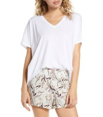 bp. sleepy lounge tee, size large in white at nordstrom