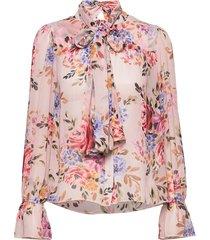 liv blouse blouse lange mouwen roze twist & tango