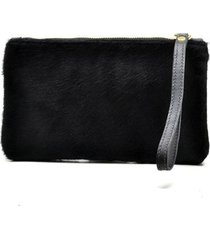 mini bag couro pêlo hendy bag feminino