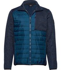 luoto m layer jacket sweat-shirt trui blauw halti