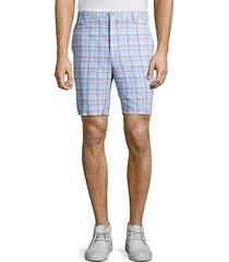 seaside madras plaid shorts