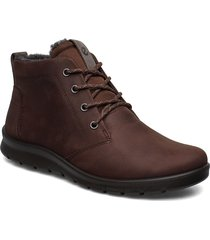 babett boot shoes boots ankle boots ankle boot - flat brun ecco