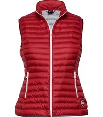 ladies down vest vest rood colmar