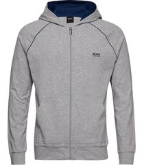 mix&match jacket h hoodie grå boss